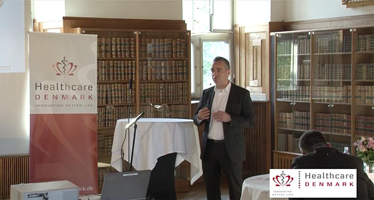 Intelligent Hospitalslogistik præsenteret på Healthcare DENMARKs ambassadør event