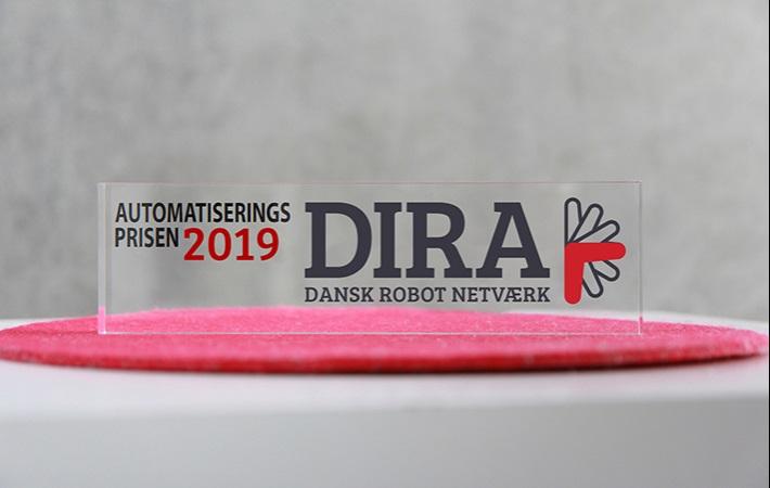 Intelligent Systems er nomineret til DIRA Automatiseringsprisen 2019