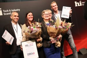 Intelligent Systems har vundet DIRA Automatiseringsprisen 2019